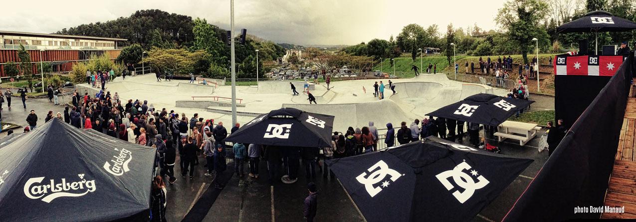 skatepark 162 dc shoes évènements skate